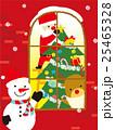 クリスマス サンタ サンタクロースのイラスト 25465328