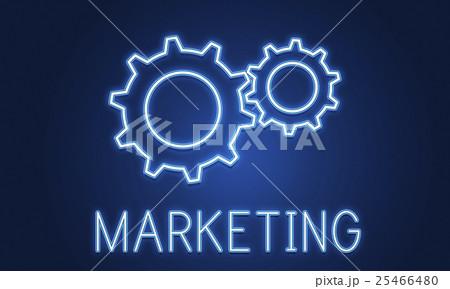 Business Achievement Progress Develpoment Cogwheel Conceptのイラスト素材 [25466480] - PIXTA