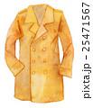 水彩イラスト ファッション トレンチコート 25471567