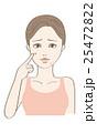 ビューティー 女性 ベクターのイラスト 25472822
