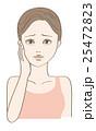 ビューティー 女性 ベクターのイラスト 25472823