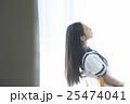 女子高生 勉強イメージ 25474041
