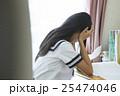 女子高生 勉強イメージ 25474046