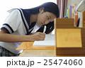 女子高生 勉強イメージ 25474060