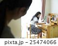 女子高生 勉強イメージ 25474066