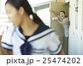 親子 朝イメージ 25474202