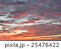 朝焼けに太陽柱 25476422