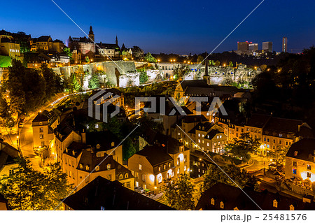 Luxembourg City night 25481576