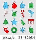 Christmas icon set 25482934