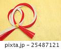 紅白の水引リース 25487121