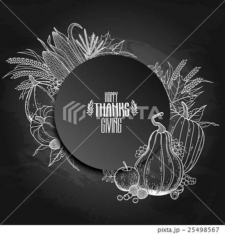 Graphic Thanksgiving dayのイラスト素材 [25498567] - PIXTA