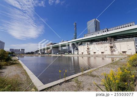 名古屋都市風景 中川区 運河町 堀止船だまり 25503077