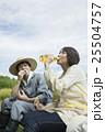 夫婦 ランチ 農家の写真 25504757