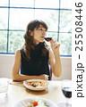 女性 レストラン ランチの写真 25508446