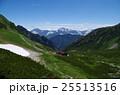 剱沢と後立山連峰を望む 25513516
