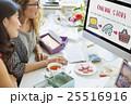 オンラインショッピング オンライン ネットショップの写真 25516916