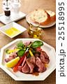 サラダ 洋食 ローストビーフの写真 25518995