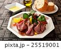 サラダ 洋食 ローストビーフの写真 25519001