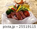サラダ 洋食 ローストビーフの写真 25519115