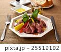 サラダ 洋食 ローストビーフの写真 25519192