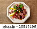 サラダ 洋食 ローストビーフの写真 25519196