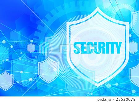ネットワークセキュリティ-ライトブルー 25520078
