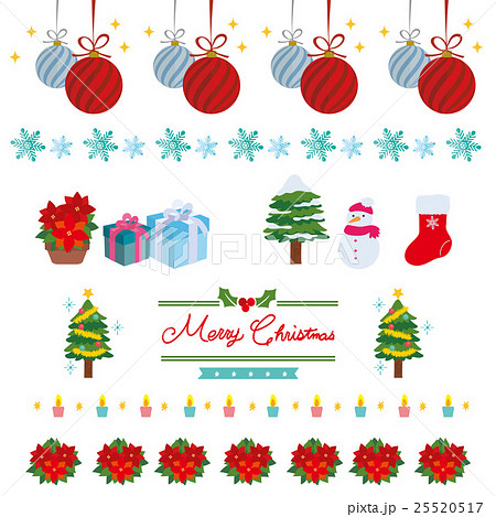 クリスマス 背景 イラスト 25520517