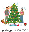 クリスマス クリスマスツリー ベクターのイラスト 25520519