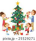 クリスマス 家族 ベクターのイラスト 25529271