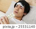 男性 風邪 インフルエンザの写真 25531140
