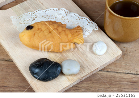 Japanese fish shaped pancakeの写真素材 [25531165] - PIXTA