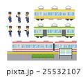 鉄道マンのセット【フラット人間・シリーズ】 25532107