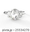 ダイヤ ダイヤモンド ジュエリーのイラスト 25534270