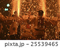 祭り 花火 人物の写真 25539465