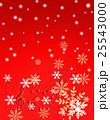 クリスマス 五線譜 音楽 譜面 雪の結晶 25543000