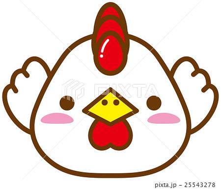 かわいいニワトリのイメージイラストのイラスト素材 25543278 Pixta