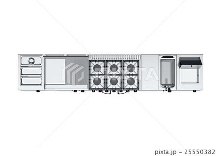 Kitchen equipment tool, top viewのイラスト素材 [25550382] - PIXTA