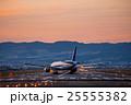 伊丹空港 夕景 25555382