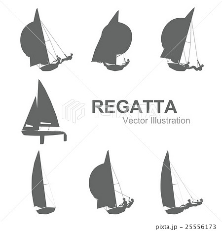 Sailboat vector illustration 25556173