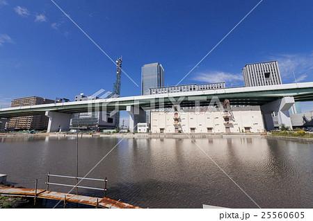 名古屋都市風景 中川区 運河町 堀止船だまり 25560605