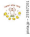酉年 年賀素材 25567201
