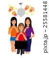 カラオケを歌う女性達 25581448