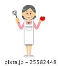 おばあさん 女性 人物のイラスト 25582448