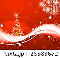 クリスマスツリー ツリー クリスマス リース 25583672