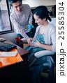 人物 夫婦 妊婦の写真 25585304