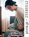 人物 女性 妊娠の写真 25585512