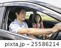 カップル 夫婦 ドライブの写真 25586214