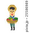 農業【フラット人間・シリーズ】 25586989