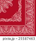 バンダナ スカーフ素材 25587463