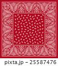 バンダナ スカーフ素材 25587476